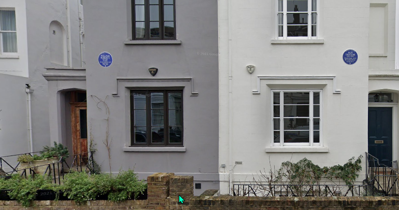 Weekly Walk in Primrose Hill - Blue Plaques in St Marks Crescent